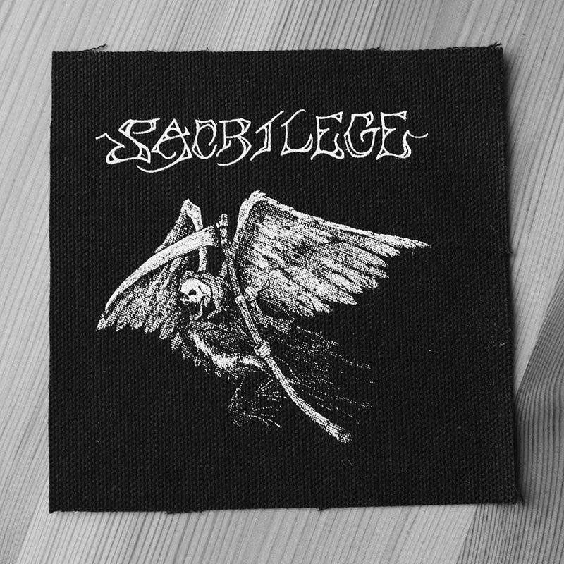 Sacrilege - Time to Face the Reaper (Printed Patch)