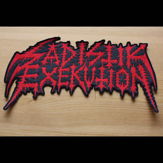 Sadistik Exekution - Logo (Leather) (Superstrip) (Backpatch)