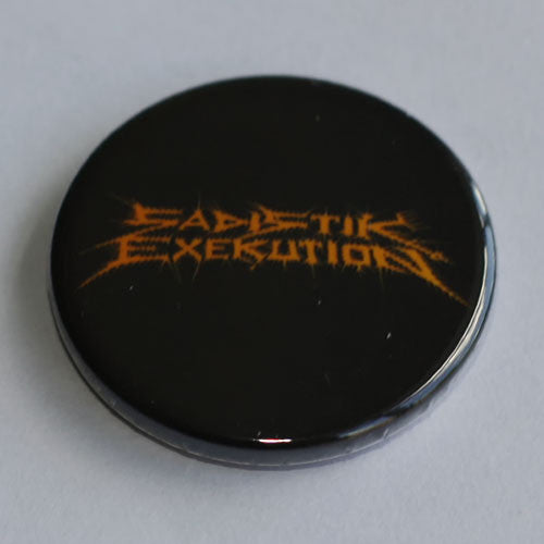 Sadistik Exekution - Orange Logo (Badge)