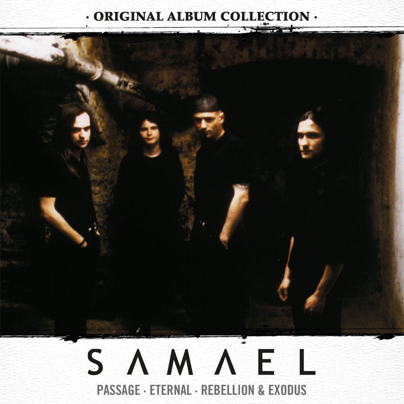 Samael - Original Album Collection (Digipak 3CD)