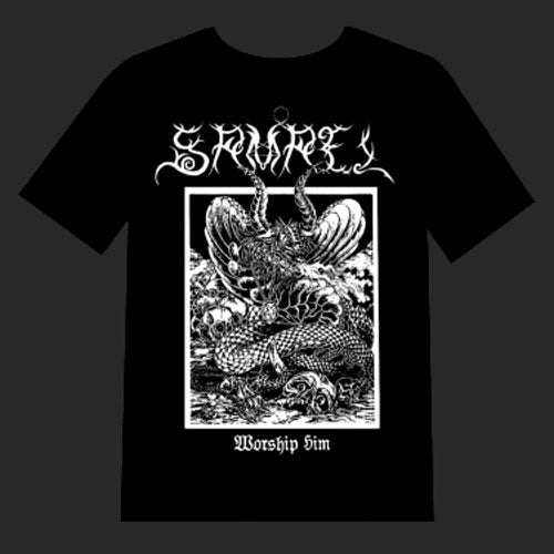 Samael - Worship Him (T-Shirt)