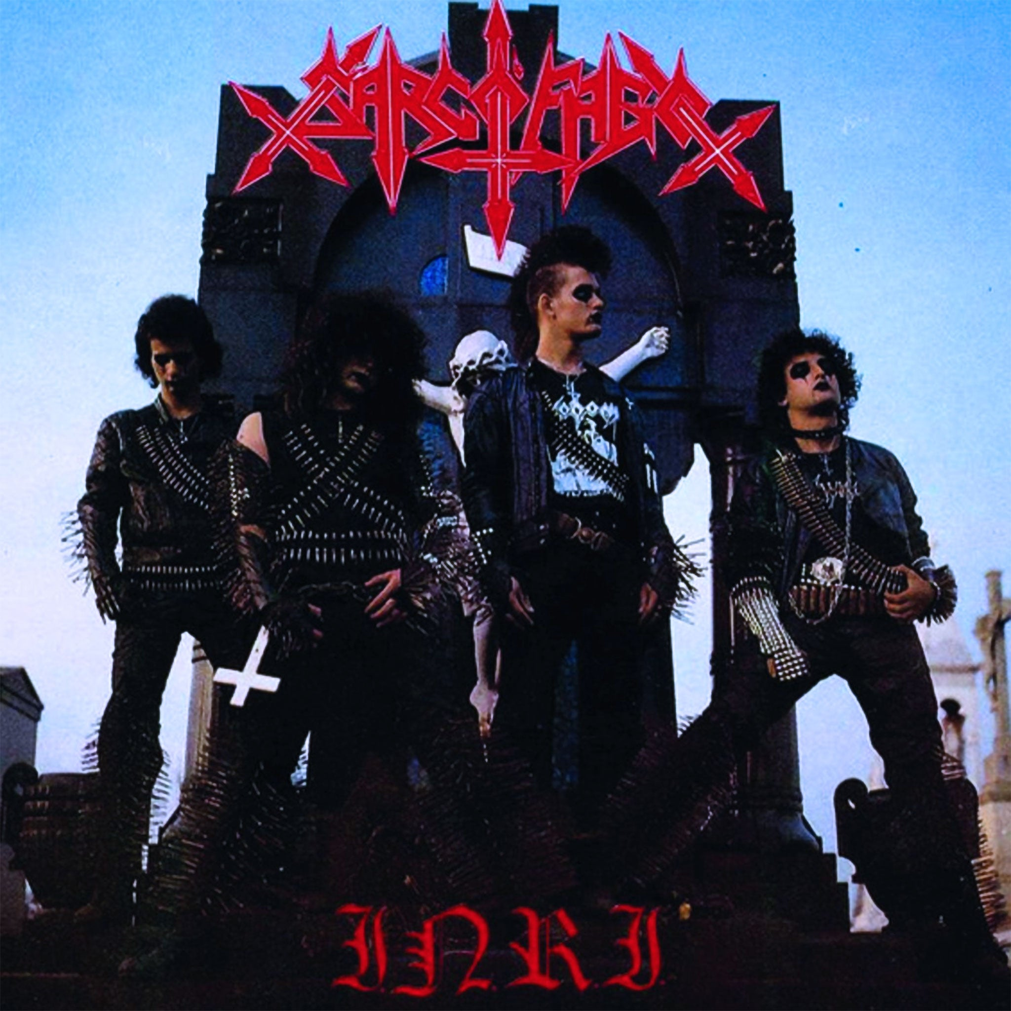 Sarcofago - I.R.N.I. (Blue Cover) (2017 Reissue) (LP)