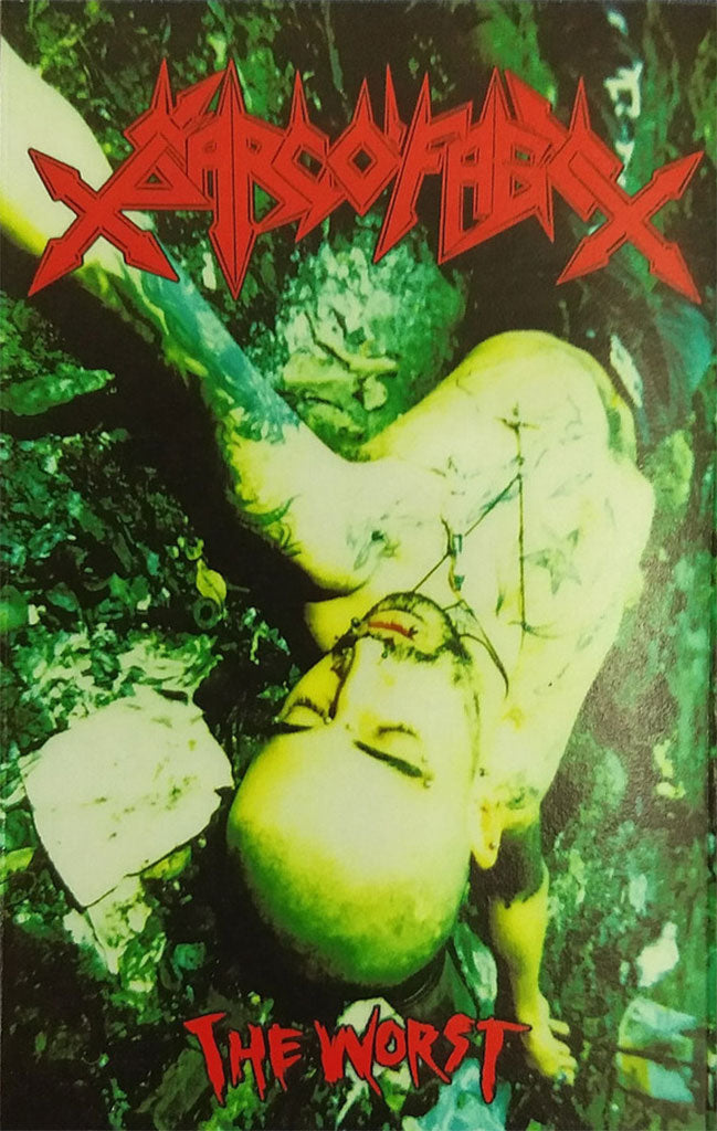 Sarcofago - The Worst (Green Edition) (Cassette)