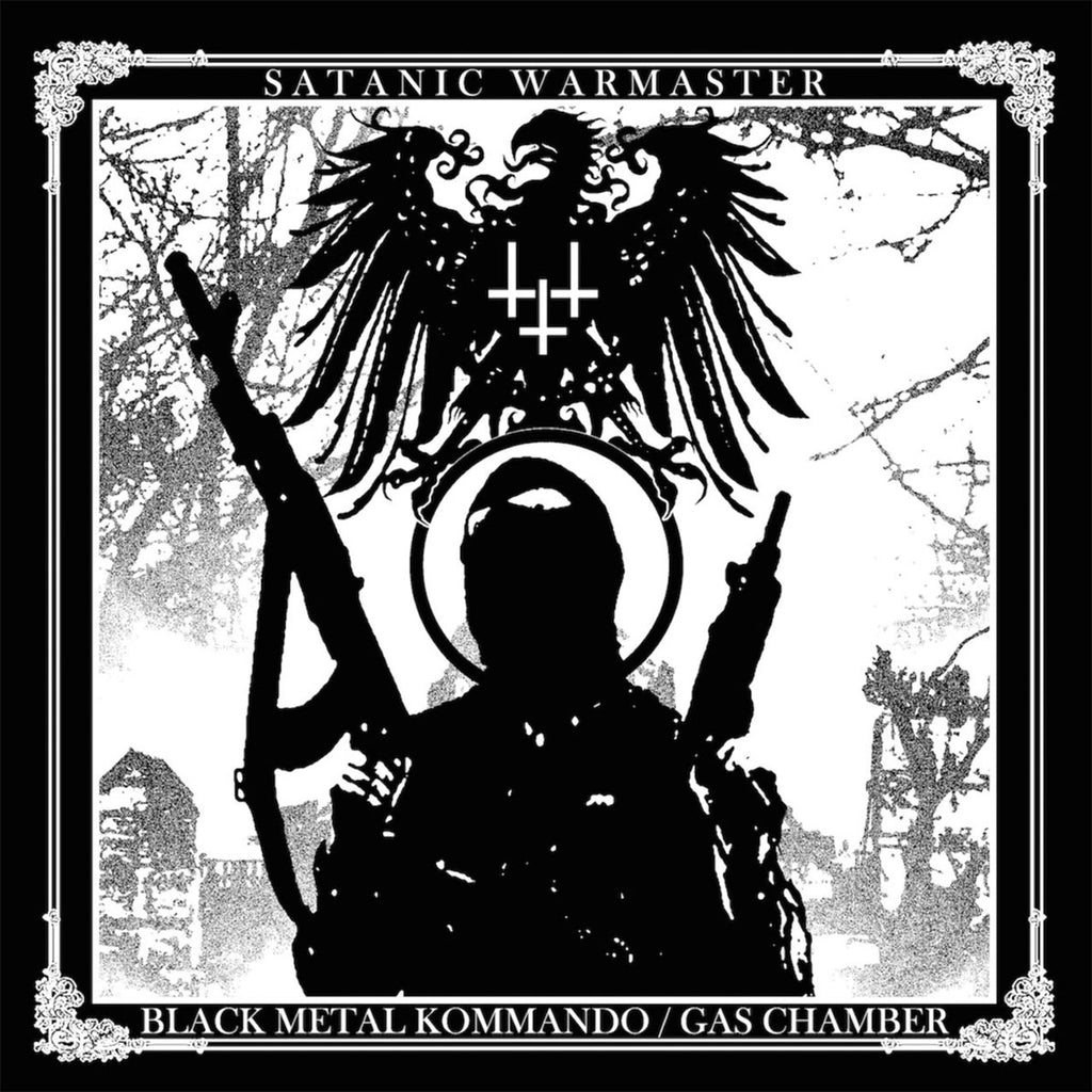 Satanic Warmaster - Black Metal Kommando / Gas Chamber (2016 Reissue) (CD)