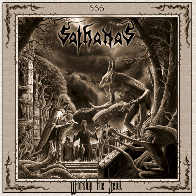 Sathanas - Worship the Devil (CD)