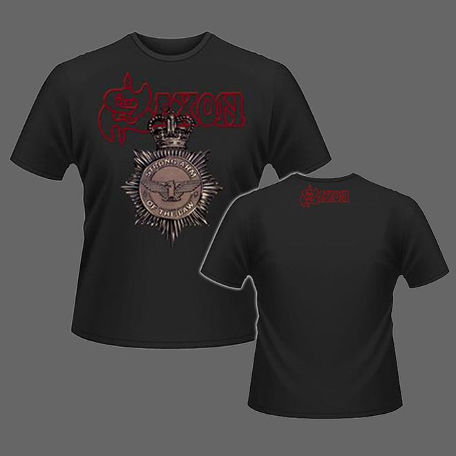 Saxon - Strong Arm of the Law (T-Shirt)