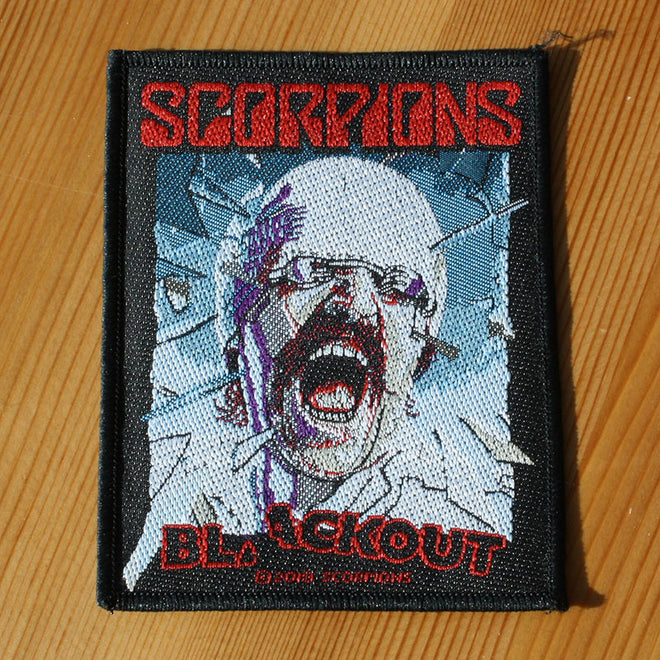 Scorpions - Blackout (Woven Patch)