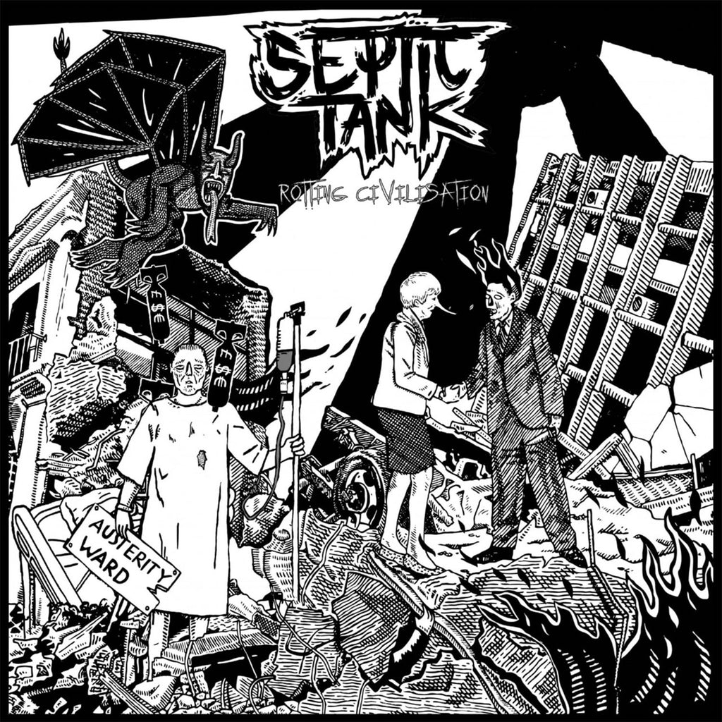 Septic Tank - Rotting Civilisation (CD)
