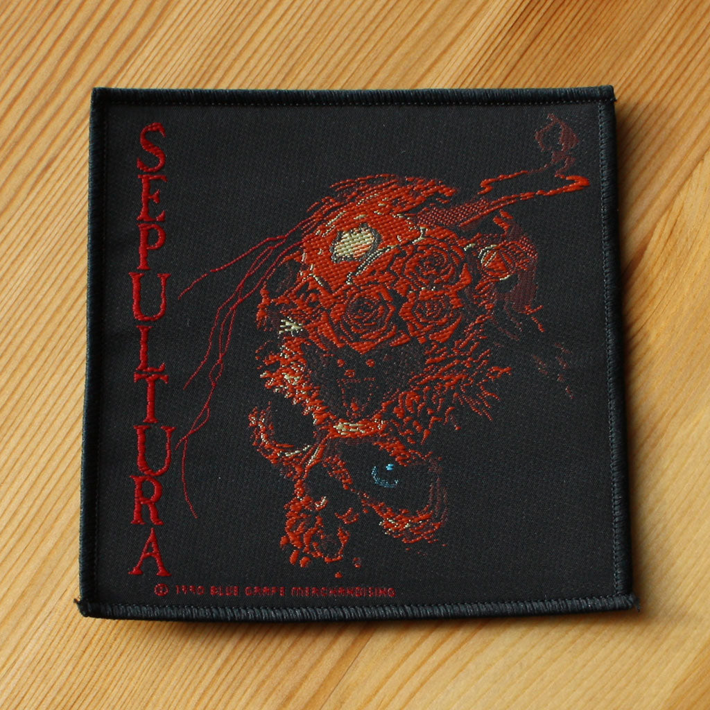 Sepultura - Beneath the Remains (Woven Patch)