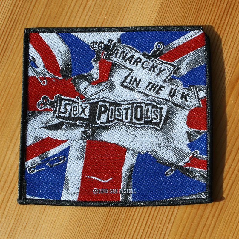 Sex Pistols - Anarchy in the U.K. (Woven Patch)