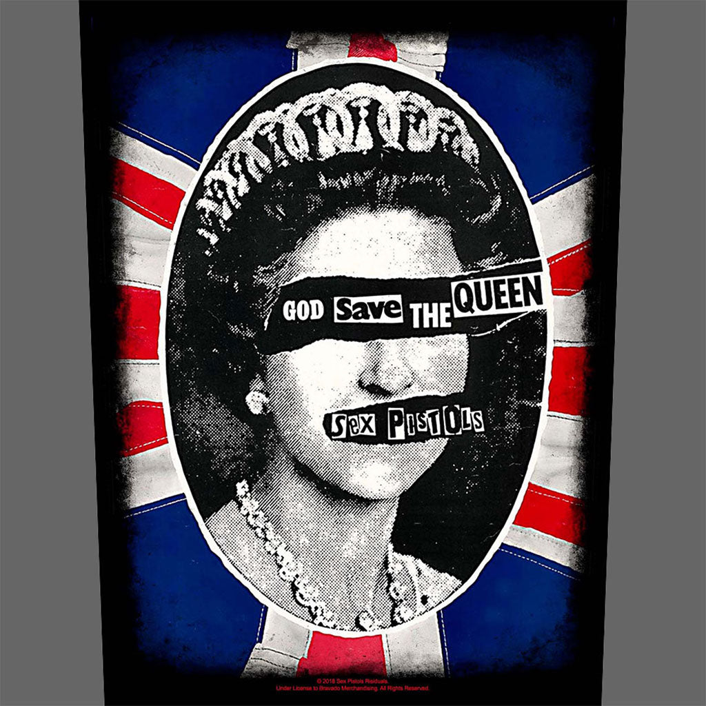 Sex Pistols - God Save the Queen (Backpatch)