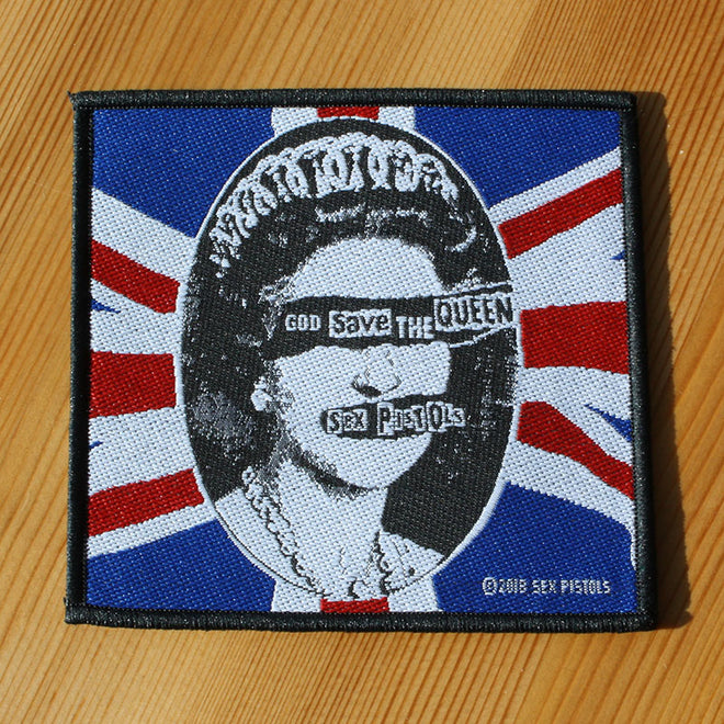 Sex Pistols - God Save the Queen (Woven Patch)