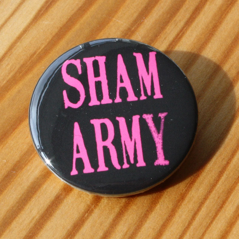 Sham 69 - Sham Army (Pink) (Badge)