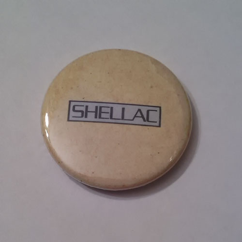 Shellac - Logo (At Action Park) (Badge)