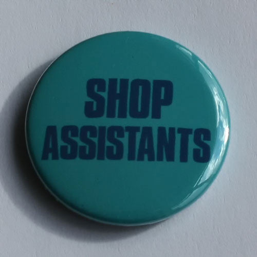 Shop Assistants - Logo (Badge)