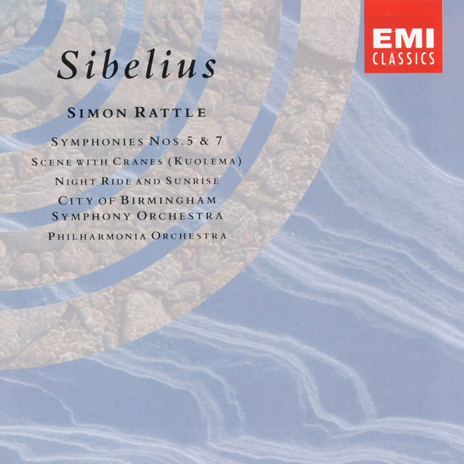 Sibelius - Symphonies Nos 5 & 7, Scene with Cranes, Night Ride and Sunrise (CD)