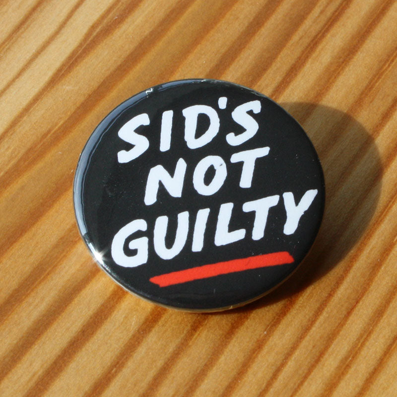 Sid's Not Guilty (Badge)