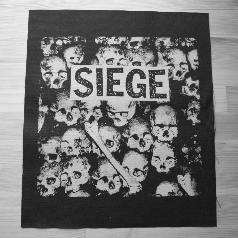 Siege - Drop Dead (Backpatch)