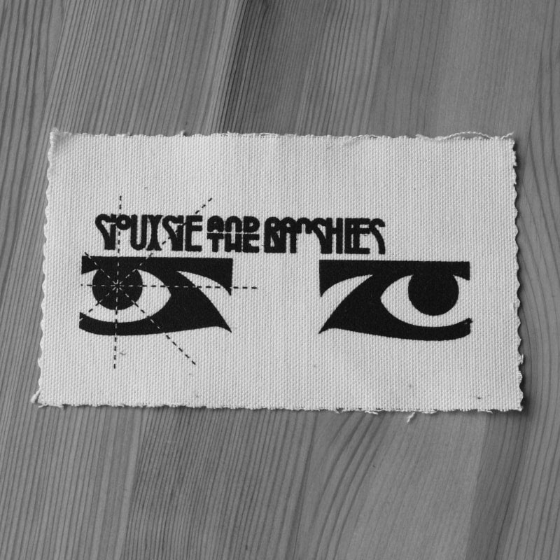 Siouxsie and the Banshees - Black Logo & Eyes (Printed Patch)
