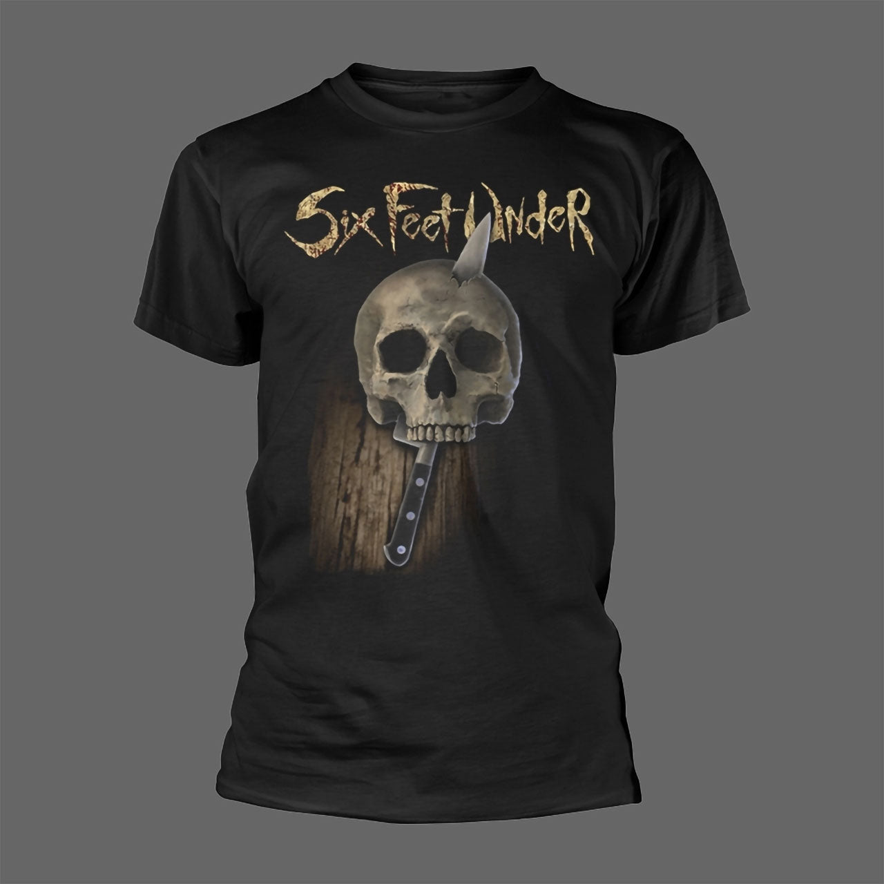 Six Feet Under - Knife Skull (T-Shirt - Released: 7 May 2021)
