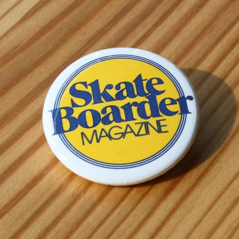 Skateboarder Magazine Logo (Badge)