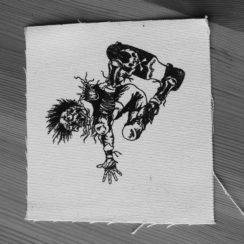 Skater (Pushead) (Printed Patch)