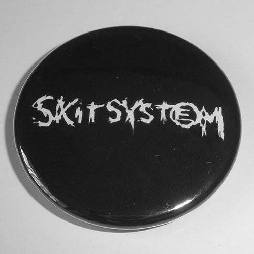 Skitsystem - White Logo (Badge)