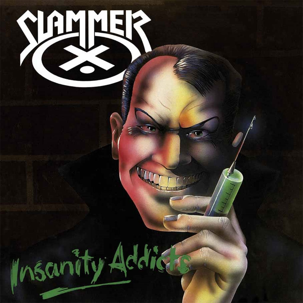 Slammer - Insanity Addicts (2016 Reissue) (Digipak CD)