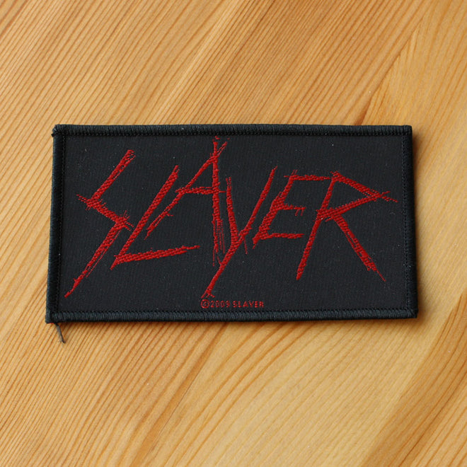 Slayer - Carved Logo (Woven Patch)