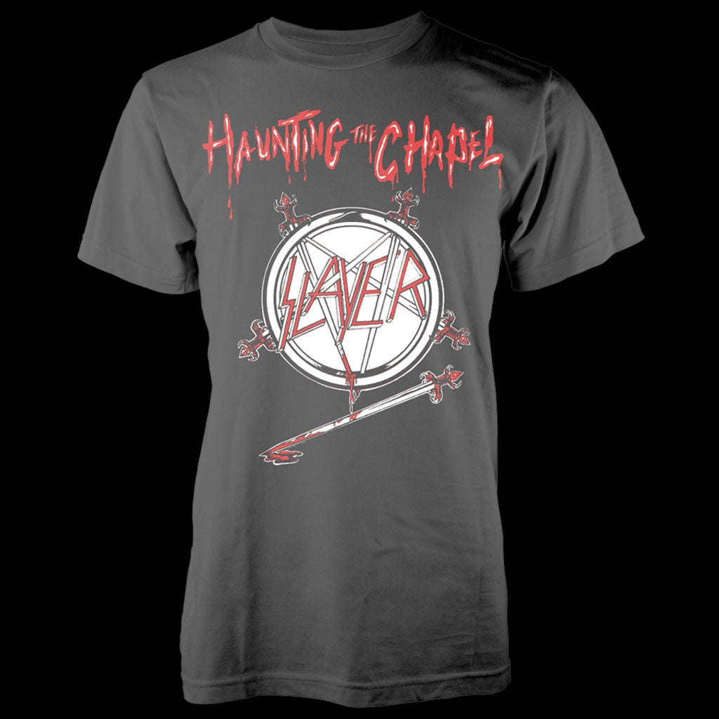 Slayer - Haunting the Chapel (Grey) (T-Shirt)