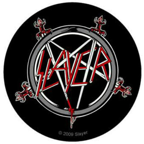 Slayer - Logo and Sword Pentagram (Sticker)