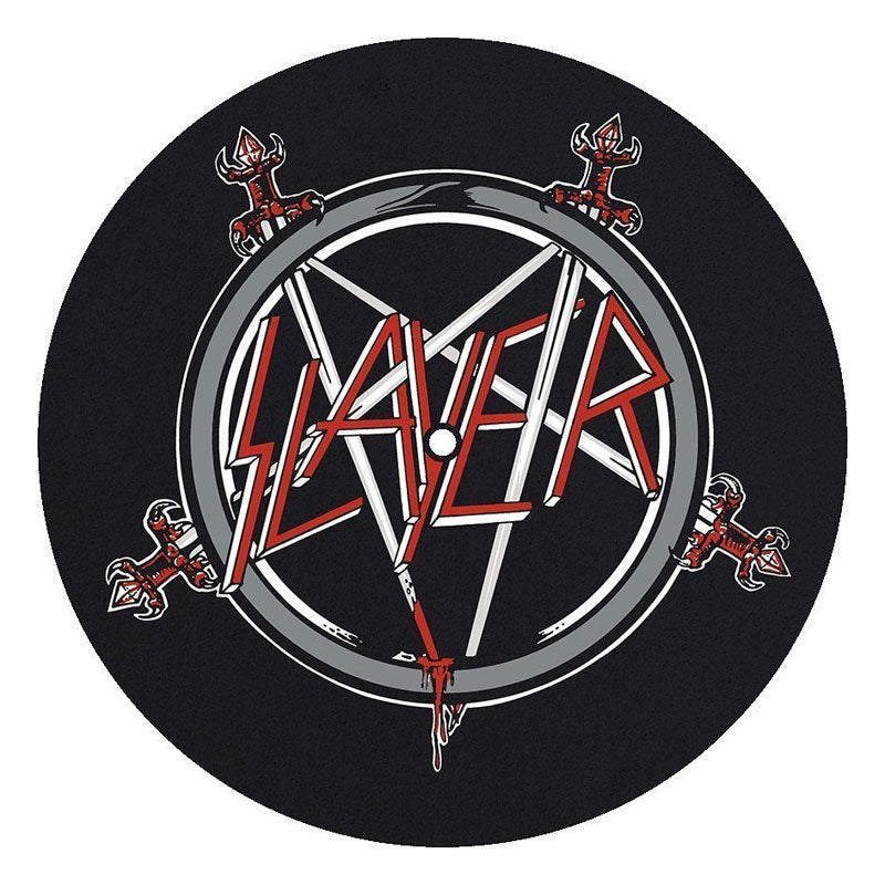 Slayer - Pentagram Logo / Wehrmacht (Slipmat Set)