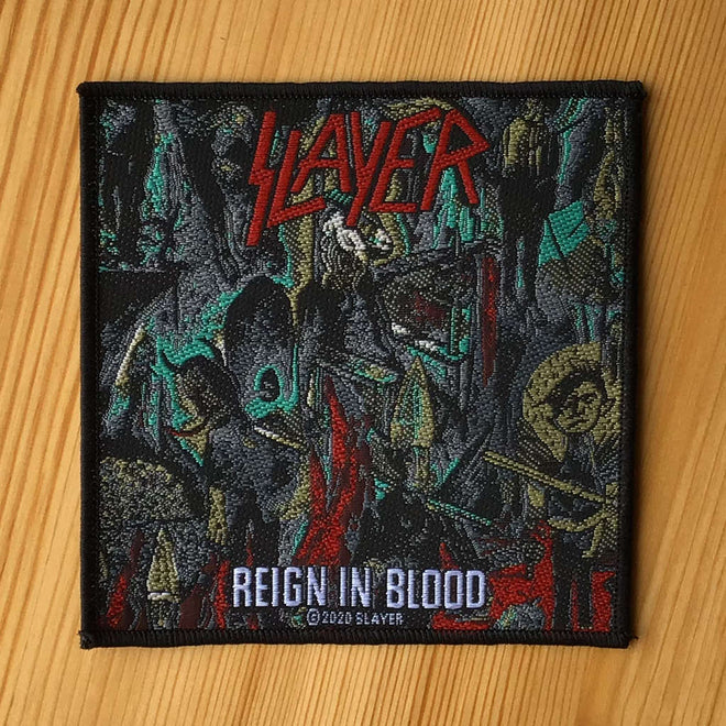 Slayer - Reign in Blood (Woven Patch)