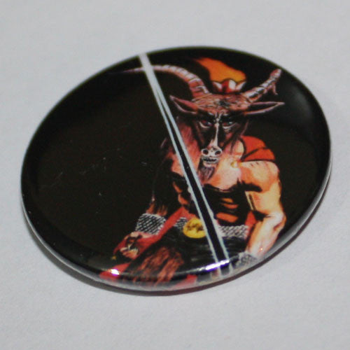 Slayer - Show No Mercy (Baphomet) (Badge)