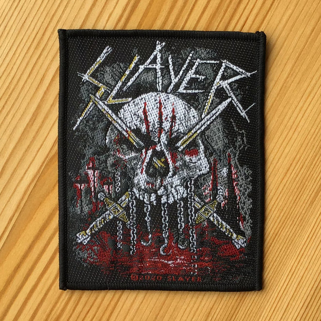 Slayer - Skull & Swords (Woven Patch)