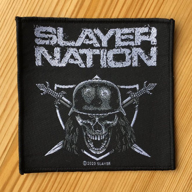 Slayer - Slayer Nation (Woven Patch)