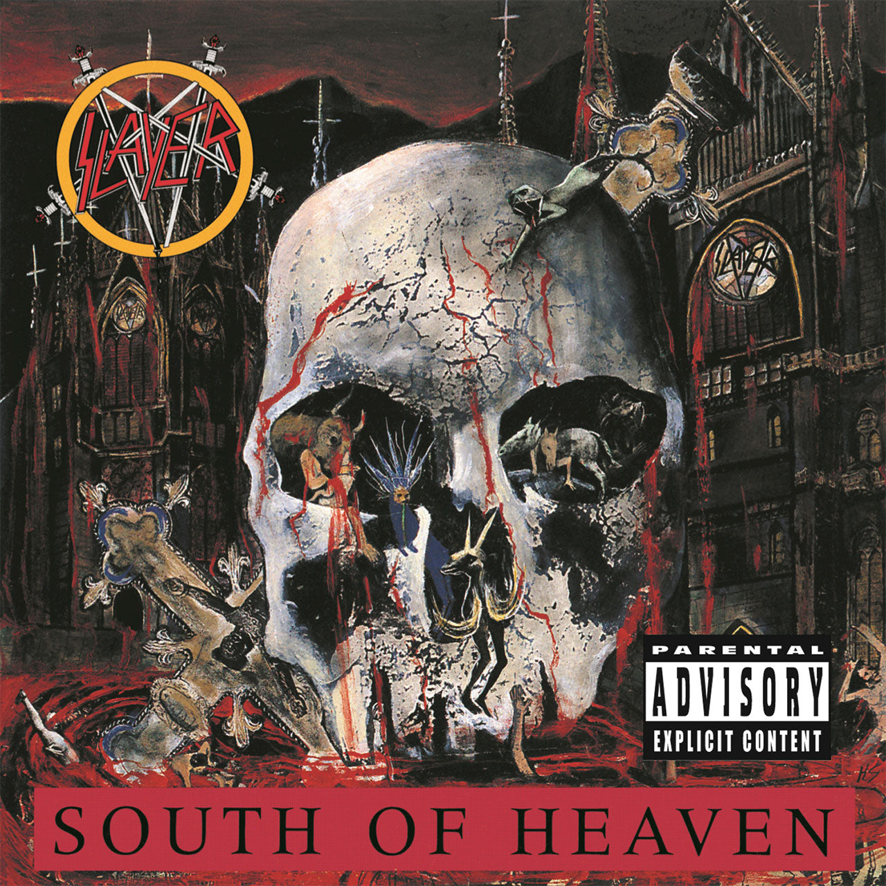 Slayer - South of Heaven (CD)