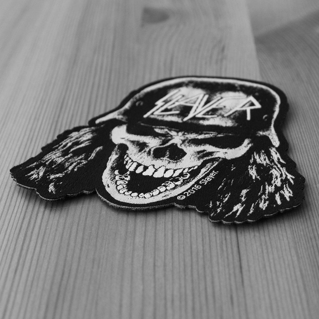 Slayer - Wehrmacht Skull (Woven Patch)