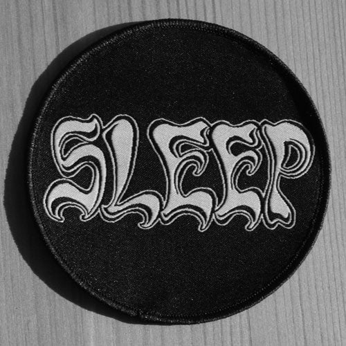 Sleep - Logo (Circle) (Woven Patch)