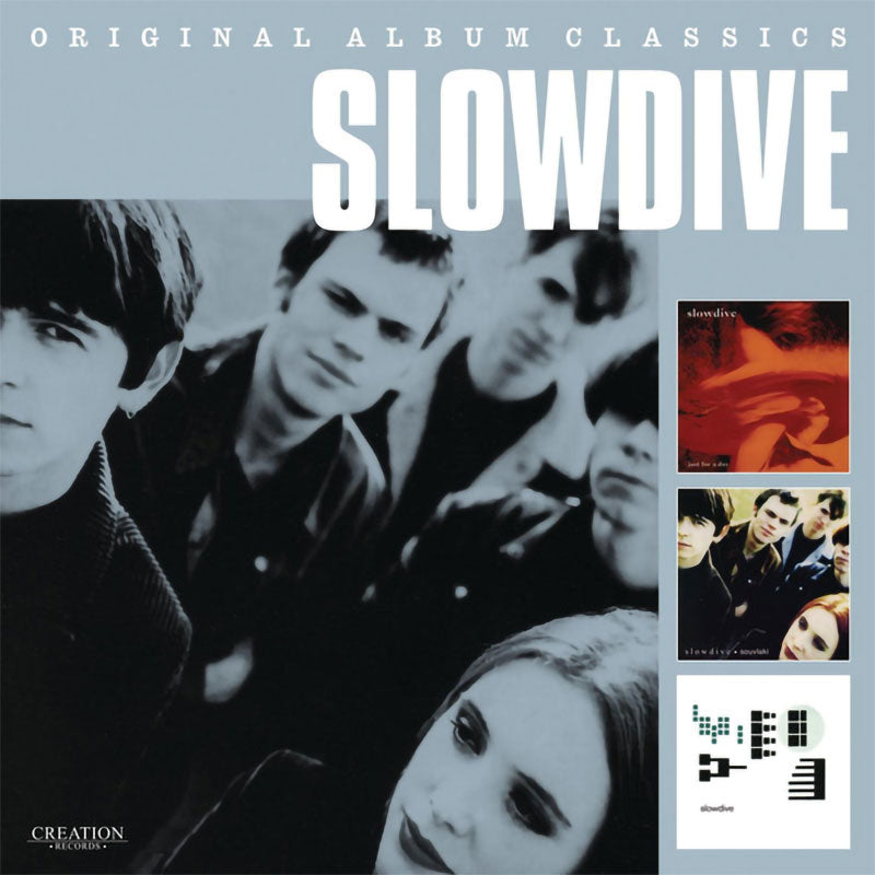 Slowdive - Original Album Classics (Just for a Day / Souvlaki / Pygmalion) (3CD)