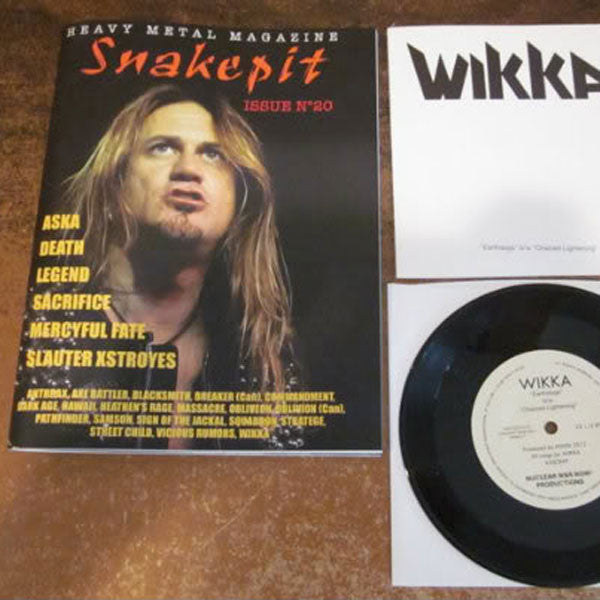 Snakepit - Issue 20 (with Wikka EP) (Zine)