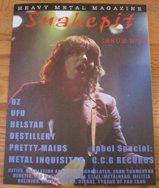 Snakepit - Issue 21 (with Oblivion EP) (Zine)