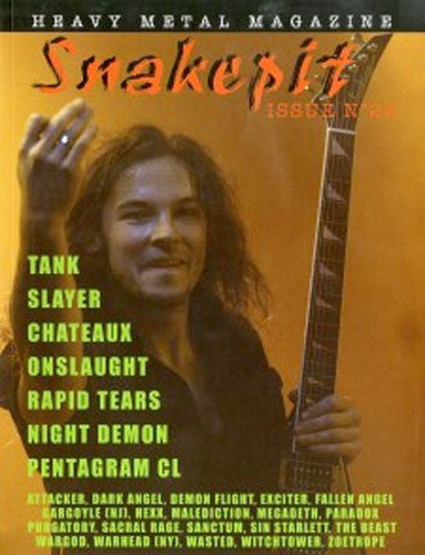 Snakepit - Issue 22 (with Malediction EP) (Zine)