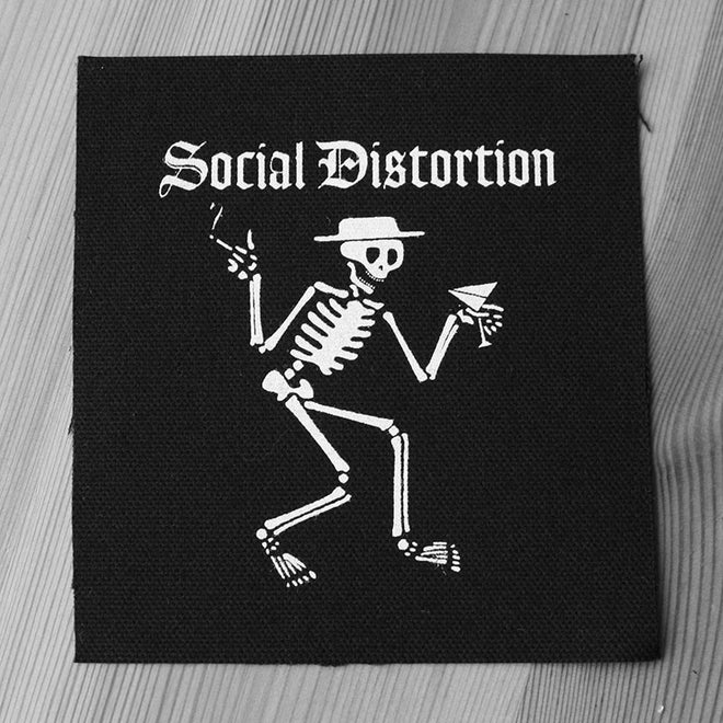 Social Distortion - Skelly Logo (Printed Patch)