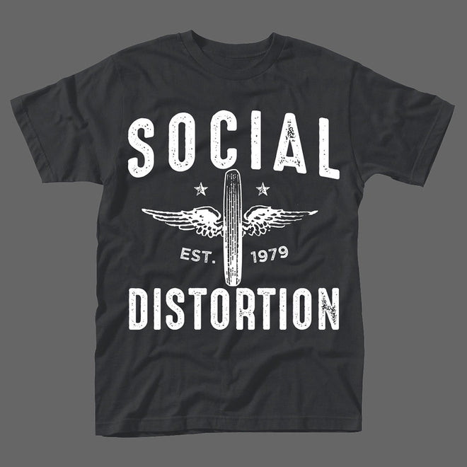 Social Distortion - Winged Wheel (T-Shirt)