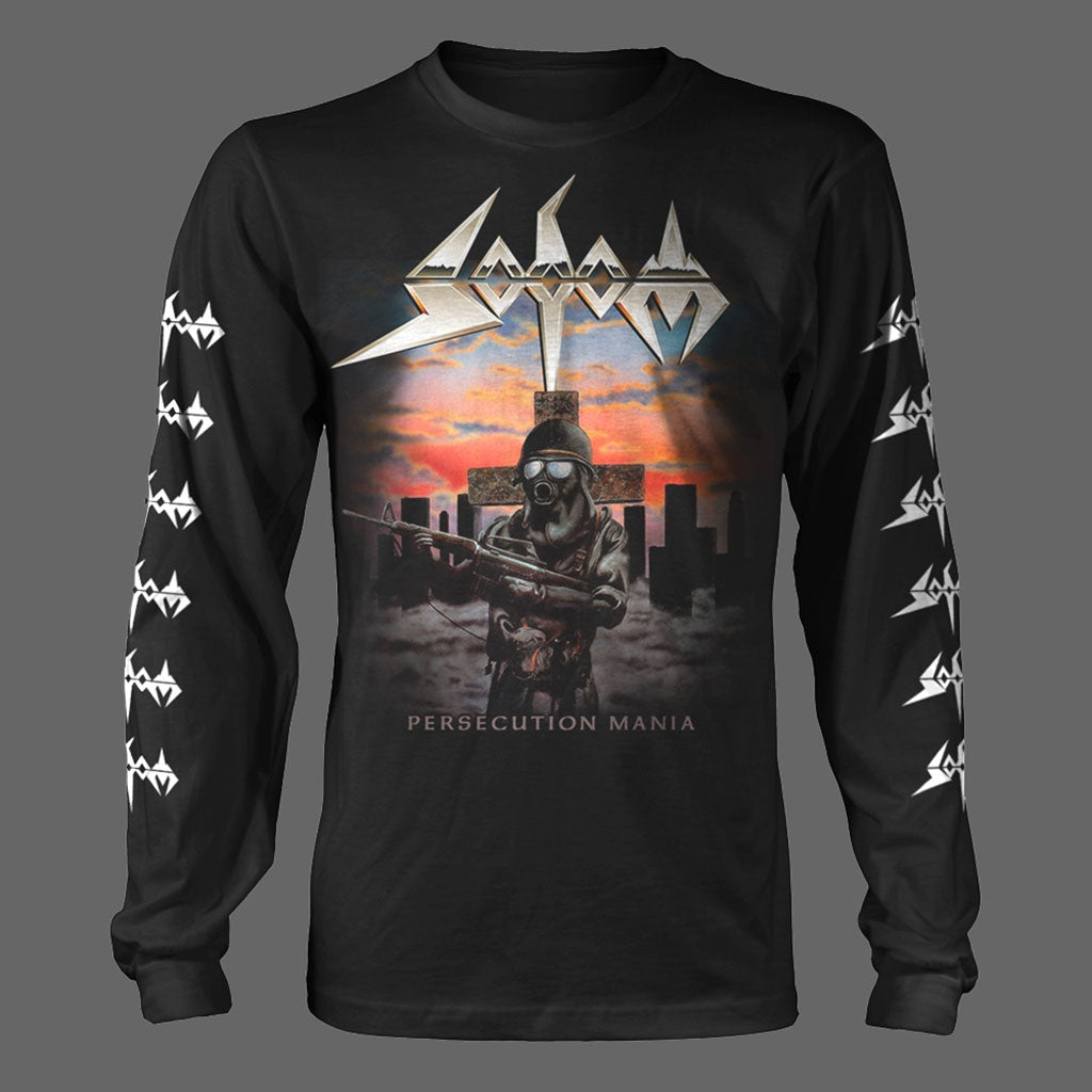 Sodom - Persecution Mania (Long Sleeve T-Shirt)