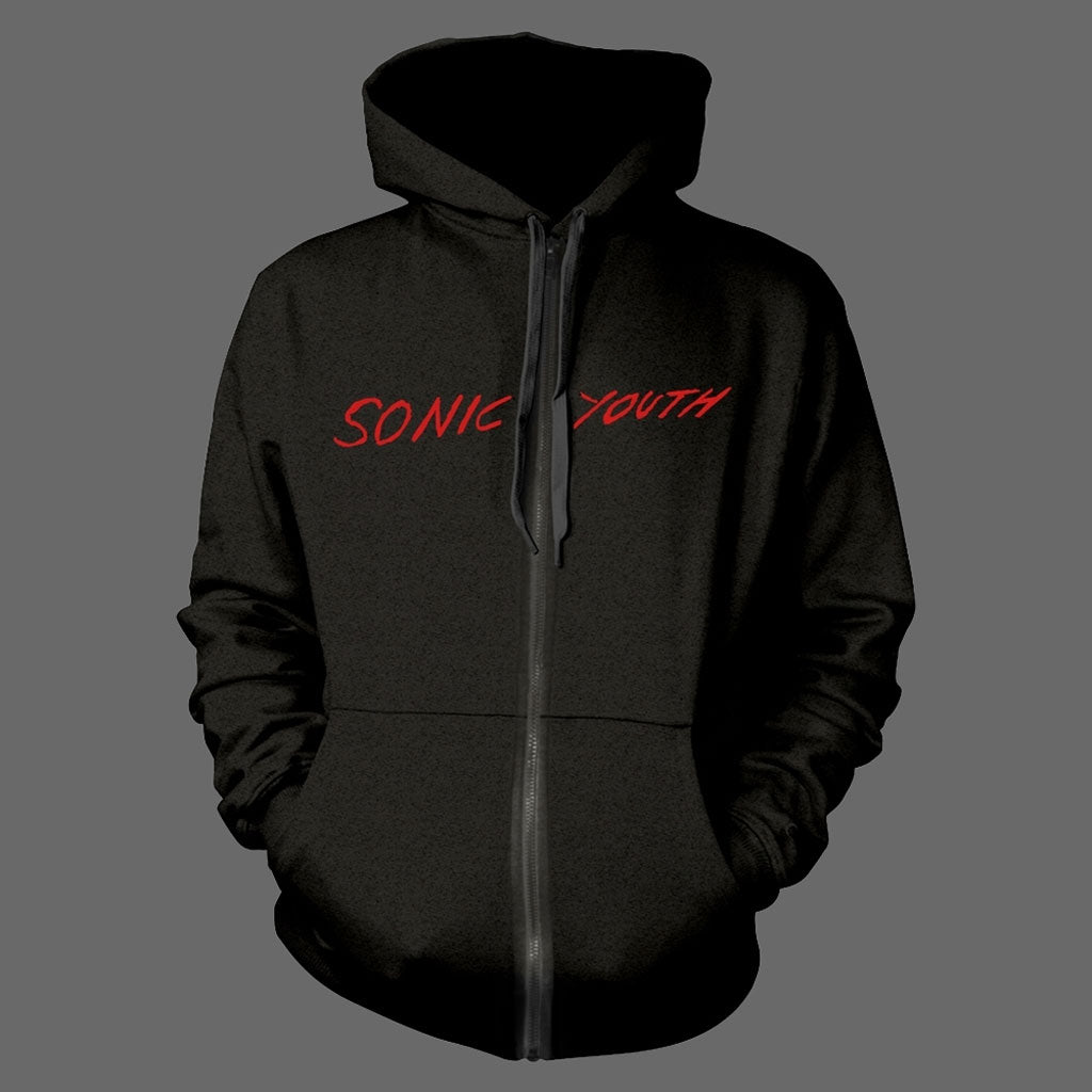 Sonic Youth - Red Logo / Goo (Full Zip Hoodie)