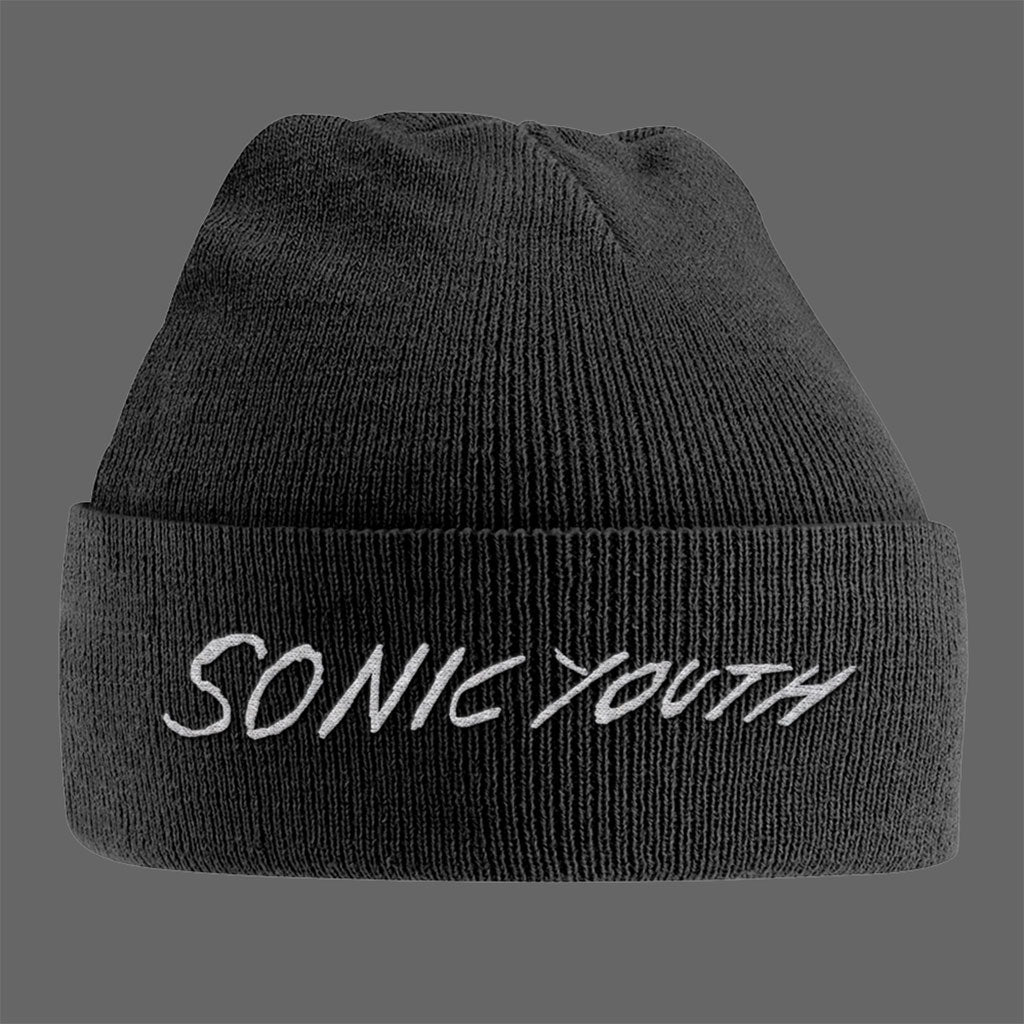 Sonic Youth - White Logo (Beanie)