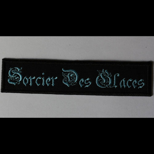 Sorcier des Glaces - Blue Logo (Embroidered Patch)