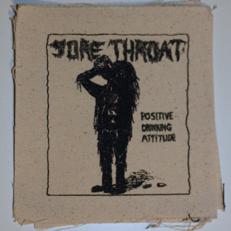 Sore Throat - Positive Drinking Attitude (Printed Patch)